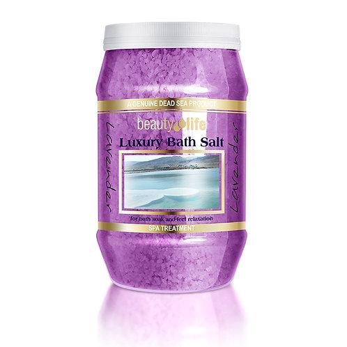 Ароматическая соль для ванн 1,3 кг Лаванда