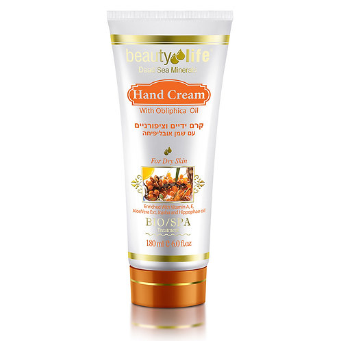 Hand Cream with Oblipiha 180 ml