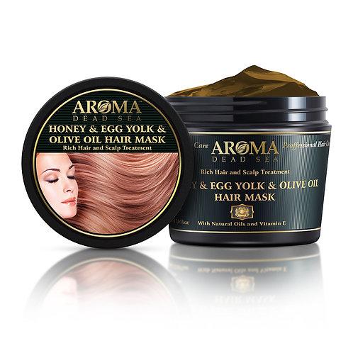 Honey Egg Yolk & Olive Oil Hair Mask 500 ml PM55