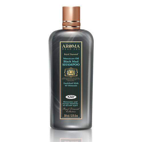 Argan Oil Black Mud Shampoo 380 ml TJ47