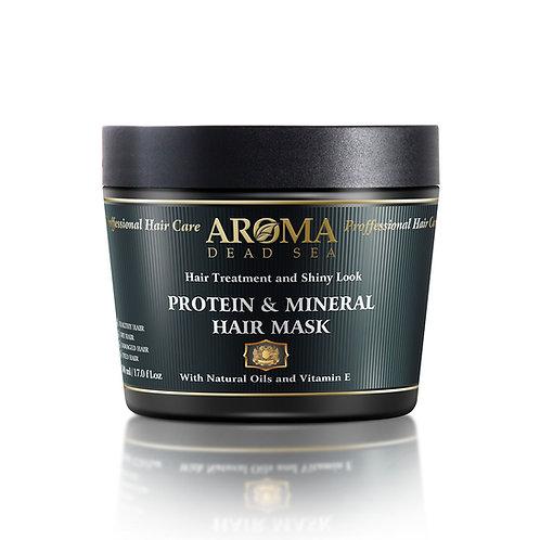 Минеральная маска  волос с витамином Е и протеином 500 мл
