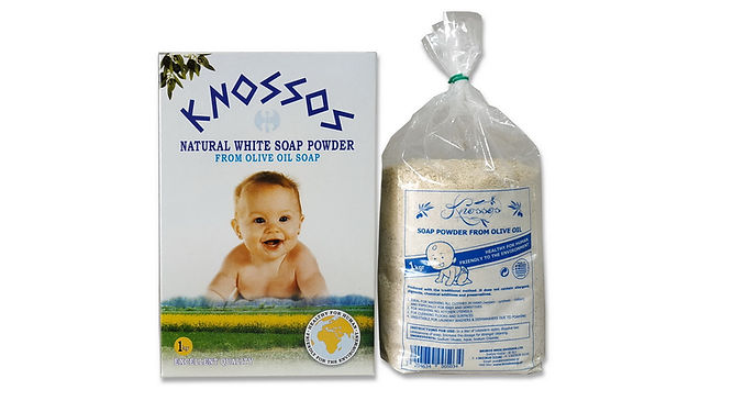 olive oil soap powders white