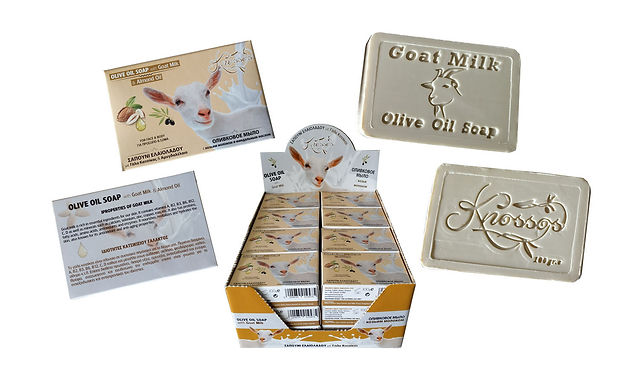Olive oil soap with Goat Milk, Almond Oil