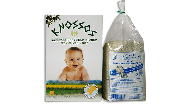 olive oil soap powders green