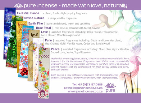 Pure Incense - The Classic Range