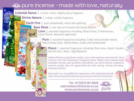 Pure Incense - The Classic Range