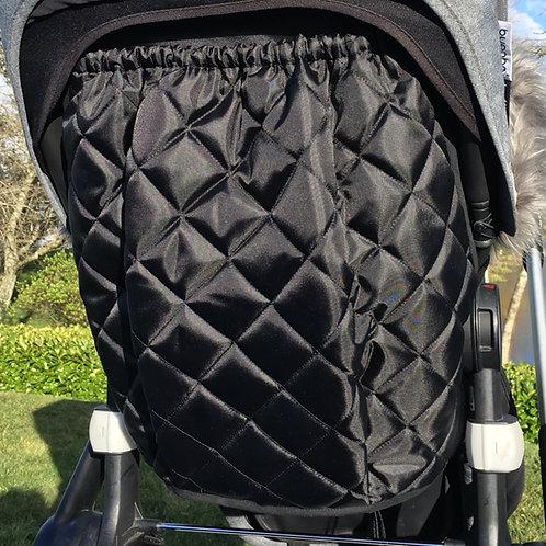 Black Bugaboo Fox Raincover Bag