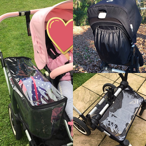 Bugaboo Donkey three wet weather products bundle