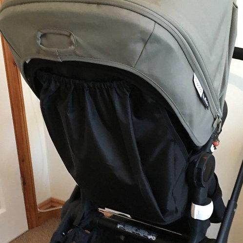 Black Bugaboo Runner Raincover Bag