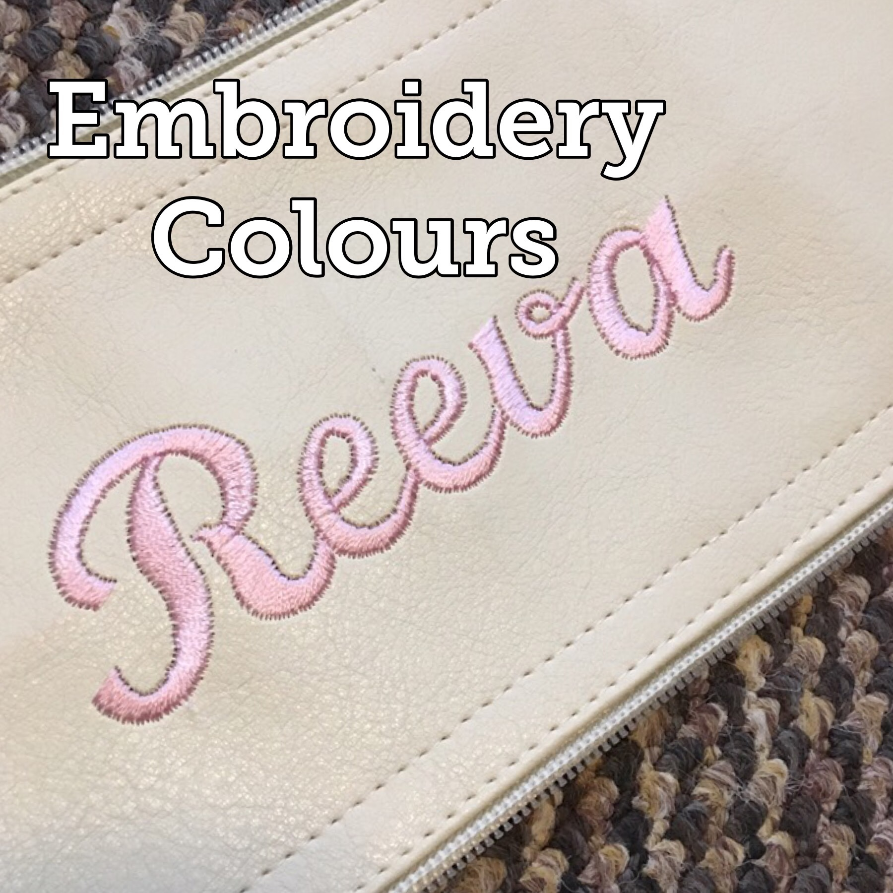 Embroidery colours