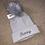 Thumbnail: Grey fur Pom Pom hat