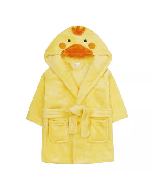Duck baby dressing gown