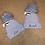 Thumbnail: Blue fur Pom Pom hat