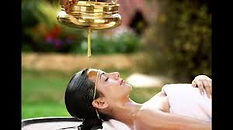 woman having massage treatment