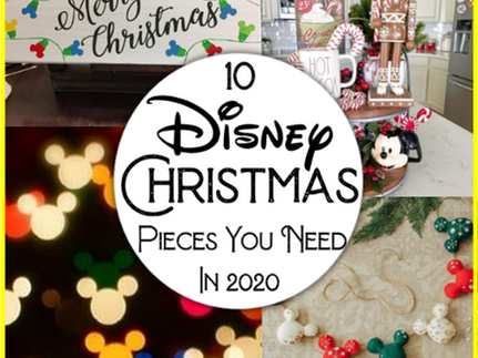 10 Disney Christmas Pieces You Need in 2020