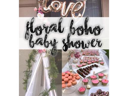 Floral Boho Baby Shower