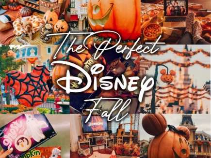 Setting the Mood: The Perfect Disney Fall