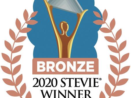 MM&J HONORED AS BRONZE STEVIE® AWARD WINNER IN 2020 AMERICAN BUSINESS AWARDS®