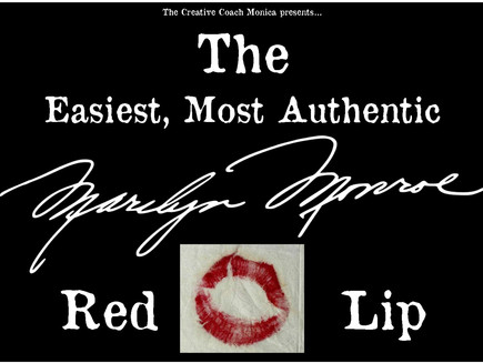The Easiest, Most Authentic Marilyn Monroe Red Lip Tutorial You'll Ever Find