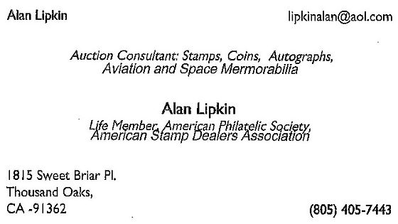 Alan Lipkin - Auction Consultant