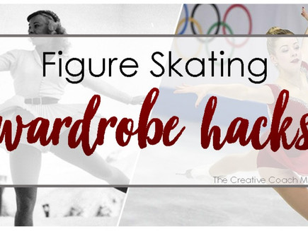 Figure Skating Wardrobe Hacks (for girls)