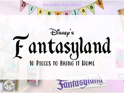 Disney's Fantasyland: 10 Pieces to Bring it Home