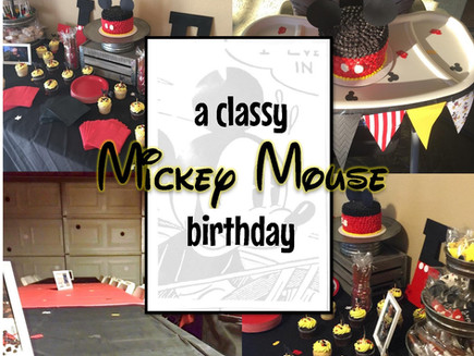 A Disney Baby's 1st Birthday