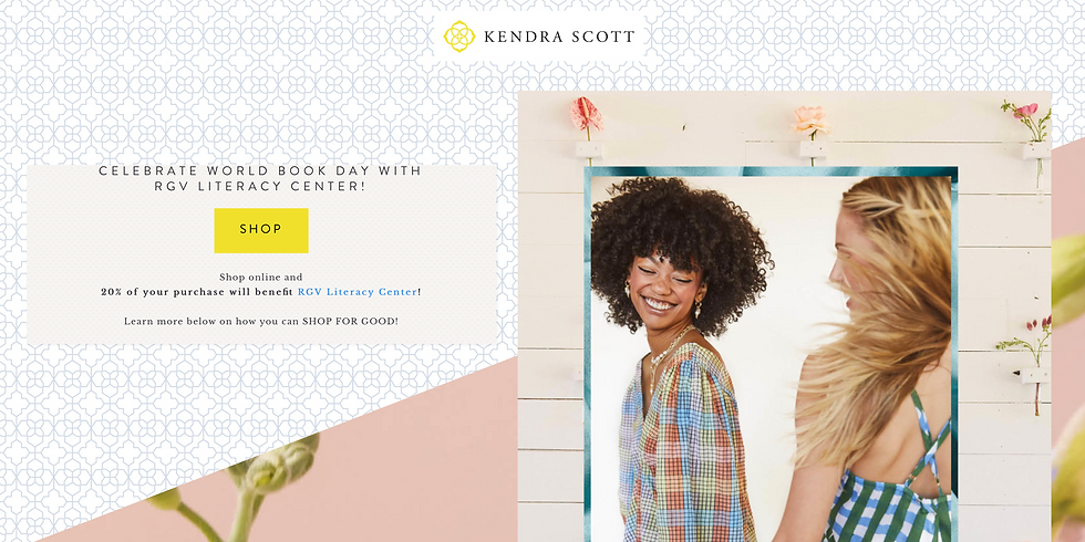 World Book Day with Kendra Scott