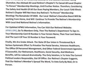 NWIAL 7140 Retiree's News