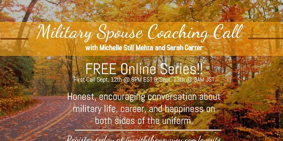 Military Spouse Coaching Call