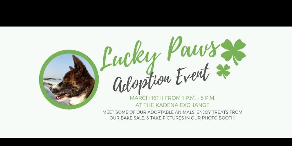 Lucky Paws Adoption Event - OSPR