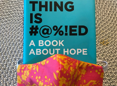 A book on hope - ironically timed