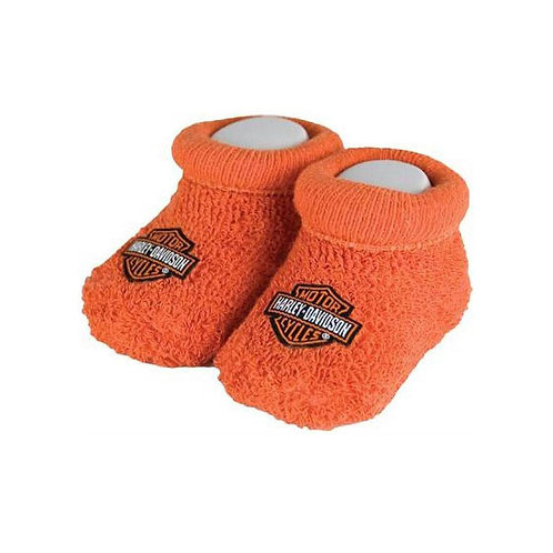 CHAUSSONS ORANGE TRICOT