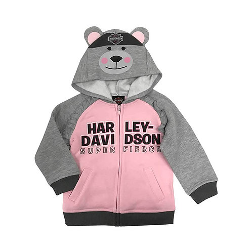 GILET CAPUCHE OURS