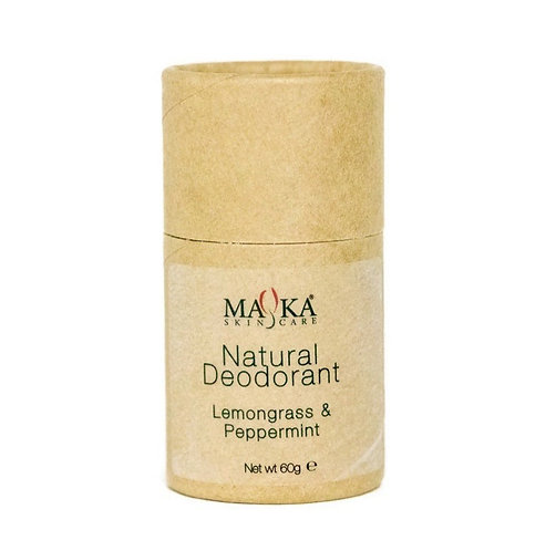 Natural Deodorant Lemongrass & Peppermint 60g