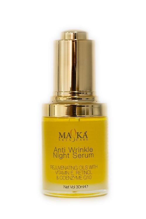 Anti Wrinkle Night Face Serum 30ml