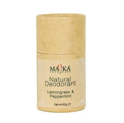 Natural Deodorant Lemongrass & Peppermint 60g