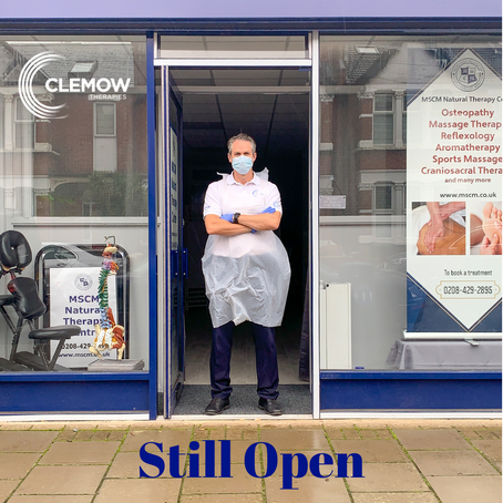 Still Open and Here to Help