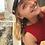 Thumbnail: Student øreringe, rød nuance