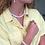 Thumbnail: Eudora halskæde, hvid