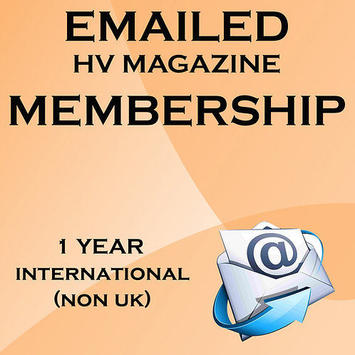 Emailed HV International Membership (Non UK)