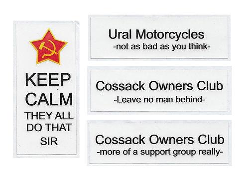 Ural - Sticker Set