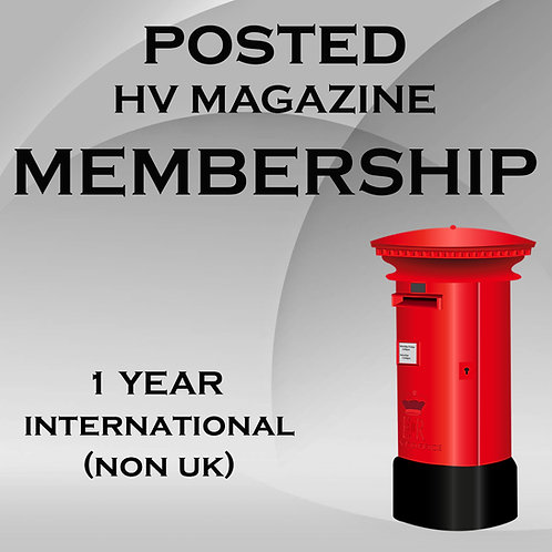 Posted HV International Membership (Non UK)