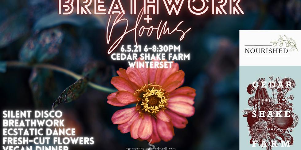 Breathwork + Blooms: A Cosmic Night on the Farm!