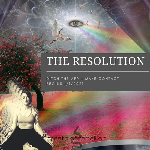 The Resolution: Individual