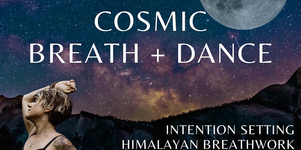 Full Moon: cosmic breath + dance