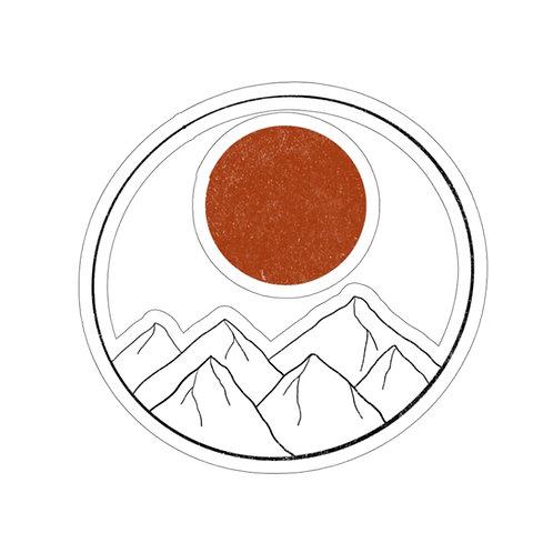 Mountain View Sticker