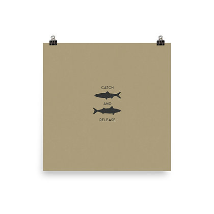 Catch and Release Print