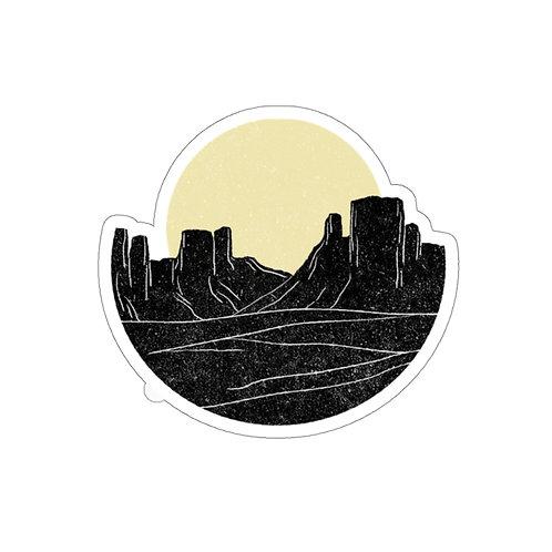 Desert Days Sticker