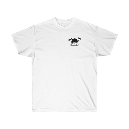Sunroof Cadillac - Unisex Cotton Tee